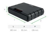 Interface celular Quad band GSM para PABX ITC 4100 - JS Soluções em Segurança