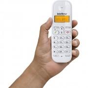 Telefone s/fio branco TS 3110 intelbras  - JS Soluções em Segurança