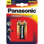 Bateria 9V Panasonic Alcalina dura muito mais - JS Soluções em Segurança
