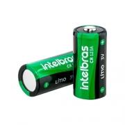 Bateria cilíndrica de lítio 3 V CR 123A intelbras - JS Soluções em Segurança