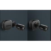 Caixa de passagem para CFTV intelbras VBOX 1100 Black - JS Soluções em Segurança