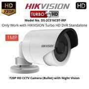 Câmera Bullet infra flex TVI, CVI, AHD & analógica 1/3 2.8mm  4 em 1 Hikvision 720p  - JS Soluções em Segurança