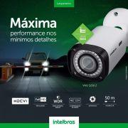 Câmera Bullet infra flex 4 em 1 Zoom digital 10X  2.7mm a 12mm motorizado 50mts WDR/ HLC/ OSD Full HD 1080p intelbras VHD 5250 Z  - JS Soluções em Segurança