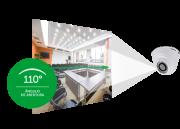 """Câmera Dome infra Flex Multi HDCVI, AHD,TVI e analógica menu OSD 1/2.7"""" 2.8MM 110º 2 megapixels VHD 1220 D G4 1080p - JS Soluções em Segurança"""