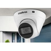 """Câmera dome infra IP HD 2.0 Megapixels 2.8mm 1/2.7"""" PoE/ BLC/ HLC/ DWDR IP67 Onvif H.265 intelbras V"""