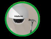 Câmera IP Speed dome 2.0 Megapixels 20X Mapa de calor, Linha virtual,Cerca virtual, Abandono,Retirada, Detecção de face, Mudança de cena, áudio Autotracking intelbras VIP 5220 SD  - JS Soluções em Segurança
