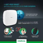 Central de alarme monitorada com até 64 zonas Mobile+PGM+Ethernet+linha+ receptor interno+ 1 control