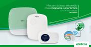 Central de alarme monitorada GSM/GPRS/SMS/linha/Ethernet + teclado Intelbras AMT 2118 EG
