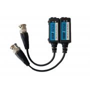 Conversor Balum de encaixe HDCVI, HDTVI, AHD  e Analógicos Full HD 1080p - JS Soluções em Segurança