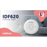 Detector de Fumaça inteligente ZigBee Smart Intelbras IDF 620 - JS Soluções em Segurança