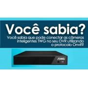 DVR 32 canais TW-5132D TH H265+  XVI- AHD - CVI - TVI - Analógico - IP (Net IP e Onvif) - JS Soluções em Segurança