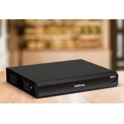 DVR Intelbras Multi HD iMHDX 3008 gravador digital Inteligente de vídeo 08 canais 5MP - JS Soluções em Segurança