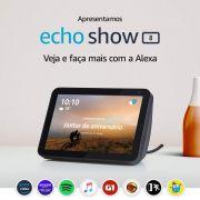 Echo Show 8 - Smart Speaker com tela de 8