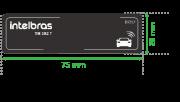 Etiqueta RFID UHF intelbras TH 382 T - JS Soluções em Segurança