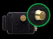 Fechadura elétrica de sobrepor universal FX 2000 UN  - JS Soluções em Segurança
