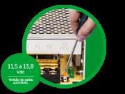 Fonte de alimentação estabilizada intelbras 12,8V 10A - EFM 1210 - JS Soluções em Segurança