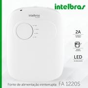 Fonte ininterrupta com carregador de bateria 12V inelbras FA 1220 S - JS Soluções em Segurança