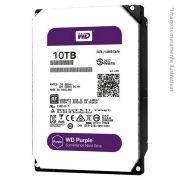 HD Interno WD Purple 10 TB Surveillance 24hs para CFTV WD100PURZ - JS Soluções em Segurança