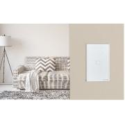 Interruptor touch smart Wi-Fi 1 Botão 4x2 Intelbras EWS 1001 branco - JS Soluções em Segurança