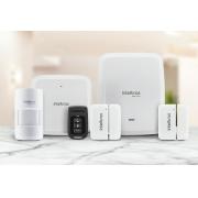 Kit Alarme intelbras linha 8000 Slim Totalmente sem fio RJ45 ou Wi-Fi e Monitorado Via Aplicativo Celular - JS Soluções em Segurança