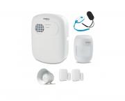 Kit de Alarme intelbras 1 central ANM 3004 ST + 1 sensor presença sem fio + 2 sensor de abertura sem
