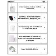 Kit de Alarme intelbras 1 central ANM 3004 ST + 1 sensor presença sem fio + 2 sensor de abertura sem fio + 1 sirene + 2 controles remotos intelbras - JS Soluções em Segurança