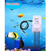Kit Sonoff TH16 Interruptor Wifi + Sensor de Temperatura para agua DS 18B20 - JS Soluções em Segurança