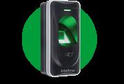 Leitor biométrico com RFID 13,56 MHz IP66 externo intelbras LE 311 MF  - JS Soluções em Segurança