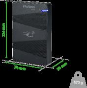 Leitor de cartão intelbras RFID 125 kHz LE 130  - JS Soluções em Segurança