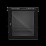 Mini Rack desmontável de parede 12U  19 x 570mm MRD 1257 intelbras - JS Soluções em Segurança