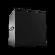 "Mini Rack desmontável de parede 12U – 19"" x 570mm MRD 1257 intelbras - JS Soluções em Segurança"