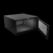 Mini Rack desmontável de parede 5U  19 x 570mm MRD 557 intelbras - JS Soluções em Segurança