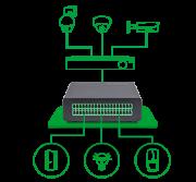 Módulo de automação entradas e saídas de alarme e PGM - intelbras Multi-BOX