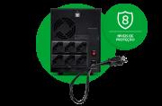 Nobreak senoidal 8 níveis de proteção + saída de bateria externa bivolt intelbras SNB 1500 VA  - JS Soluções em Segurança