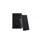 Interruptor touch smart Wi-Fi 2 Botões 4x2 Intelbras EWS 1002 preto - JS Soluções em Segurança