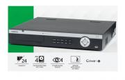 NVD Gravador de imagem de rede  intelbras NVD 5124  24 câmeras IP Full HD H.265 4K e