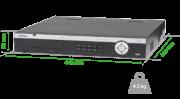 NVD Gravador de imagem de rede intelbras NVD 5124  24 câmeras IP H.265 até 8 Megapixels 4K e - JS Soluções em Segurança