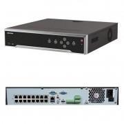 NVR Hikvision Ultra HD 32 Canais IP 16 portas PoE DS-7732NI-K4/16P 4K - JS Soluções em Segurança
