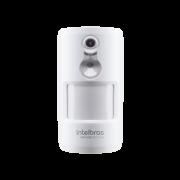 Sensor de movimento infra vermelho passivo com camera intelbras IVP 8000 PET CAM - JS Soluções em Segurança