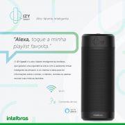 Smart Speaker comando de voz alto falante inteligente IZY Speak intelbras - JS Soluções em Segurança