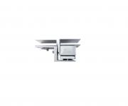 Suporte SV 20150 Kit de Instalação para portas de vidro - JS Soluções em Segurança