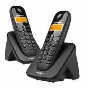 Telefone sem fio digital com 1 ramal adicional TS 3112 - JS Soluções em Segurança