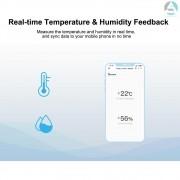 Temperatura ZigBee e Sensor de umidade SONOFF SNZB-02 - JS Soluções em Segurança