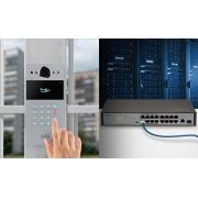 Vídeo Porteiro IP 12V ou PoE 802.3af XPE 3115 IP Intelbras - JS Soluções em Segurança