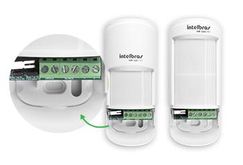 Sensor Infra Vermelho Passivo Intelbras Pet 20Kg 12mts 90 graus IVP 5001 PET - JS Soluções em Segurança