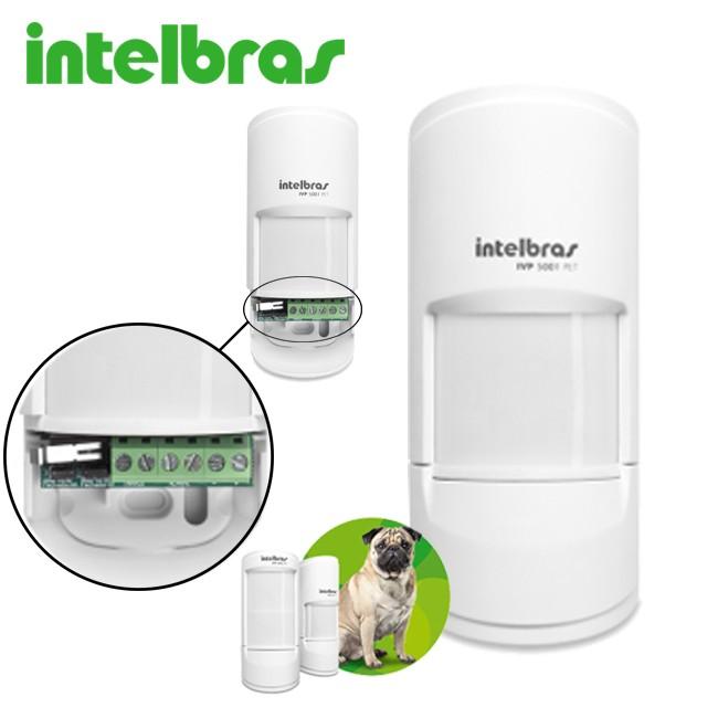 Sensor infravermelho passivo proteção sem interferências IVP 5001 PET Shield 20 kg - JS Soluções em Segurança