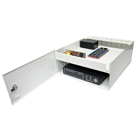 Iron House Híbrido 1G 550 Para DVR 32 Vídeos + 32 aúdio + 2 cabos sem audio ( sem fonte ) - JS Soluções em Segurança