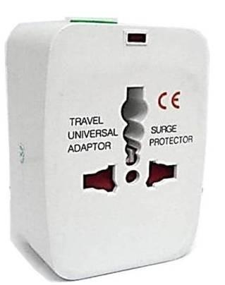 Adaptador Universal de Tomadas para Viagens Internacionais - JS Soluções em Segurança
