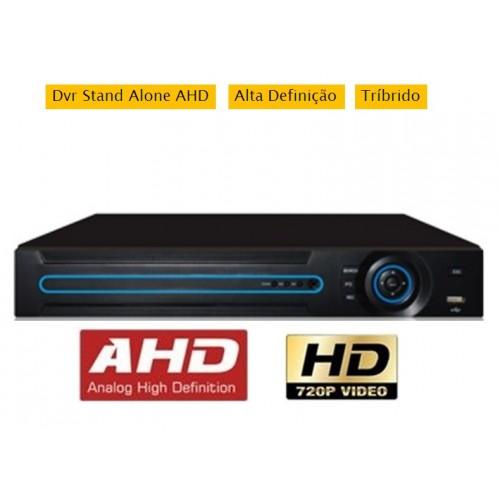 DVR GRAVADOR DE IMAGENS 16 CANAIS AHD-M / TVI / CVI / ANALÓGICO E IP + Acesso QR Cloud  5 em 1 - JS Soluções em Segurança