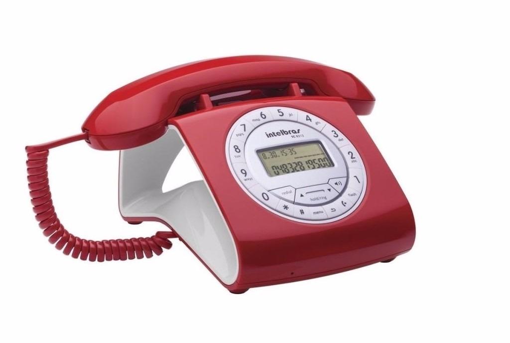 Telefone com fio Intelbras - com Identificador de chamadas TC 8312 - JS Soluções em Segurança